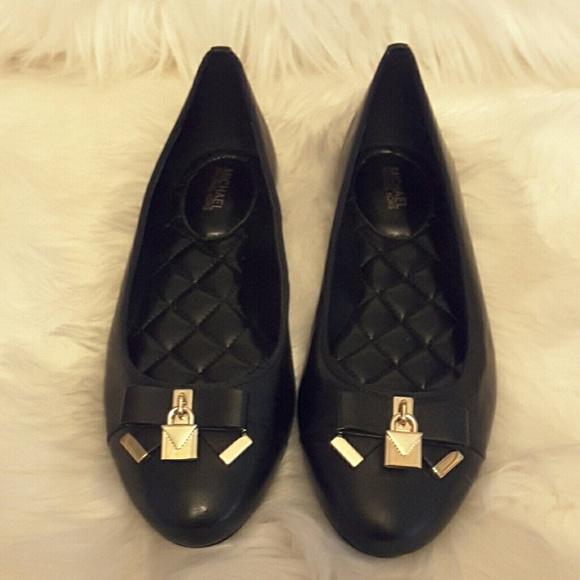 Michael Kors Alice Black Ballet Flats